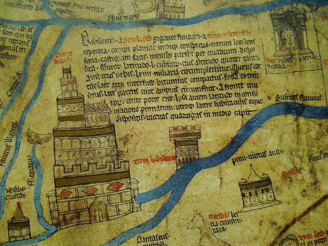 Mappa mundi Babylon Babel