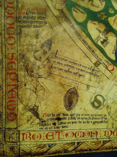 Mappa mundi Augustus Richard Holdingham