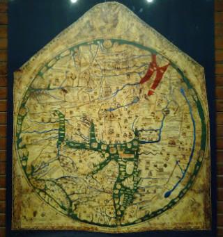 Girton College Mappa Mundi