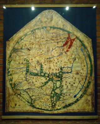 Mappa Mundi Hereford Girton