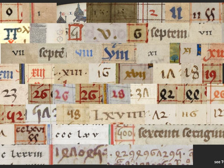 The beauty of medieval numbers