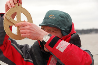 Historic navigational instruments on trial