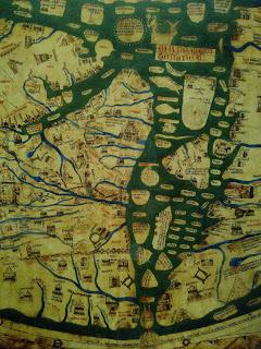 Mappa mundi Mediterranean