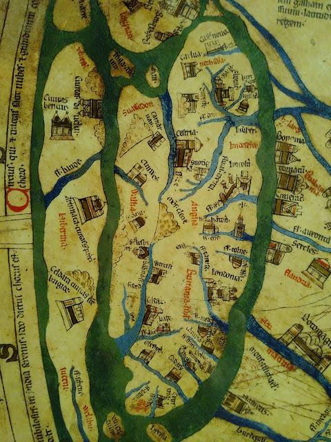 Mappa Mundi Britain England Wales Ireland