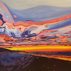 splitpoint sunrise acrylic