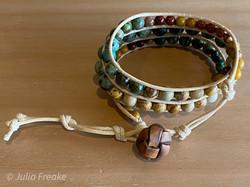 Jasper Wrap Bracelet