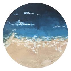 Beach pour circular