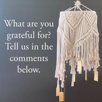 Bonding Gratitude with Knots