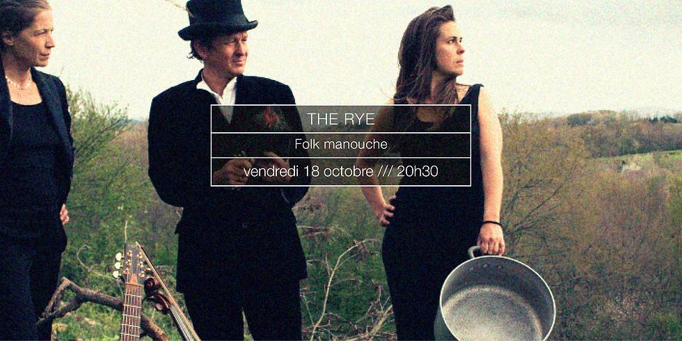 The Rye en concert