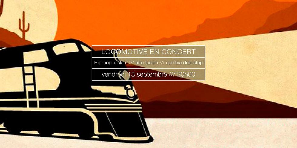 LocoMotivé en concert