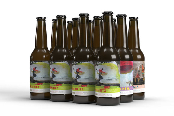 Pack Belgian (mixed carton 12 x 33cl)