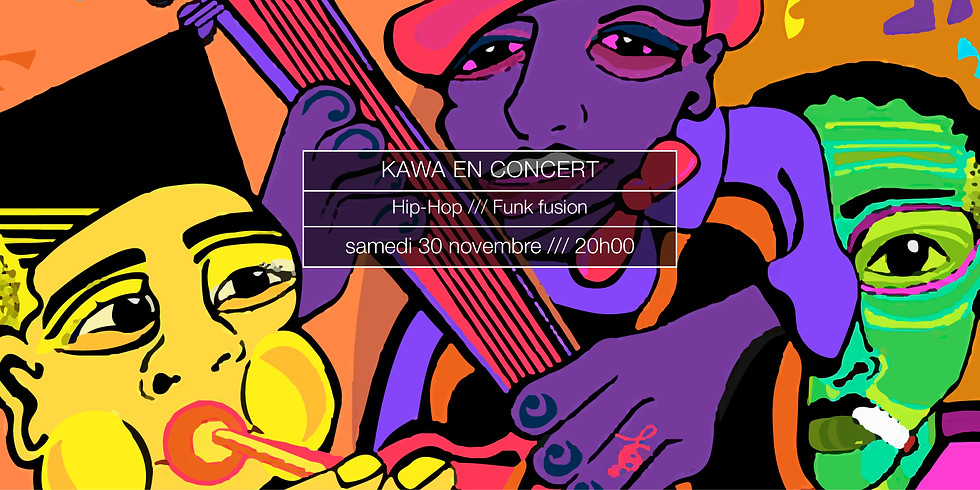 Kawa en concert