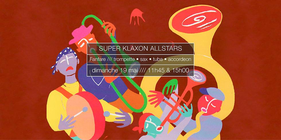 Super Klaxon Allstars en concert