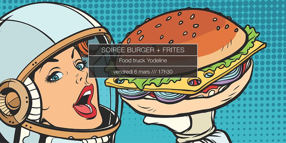 Soirée burger + frites