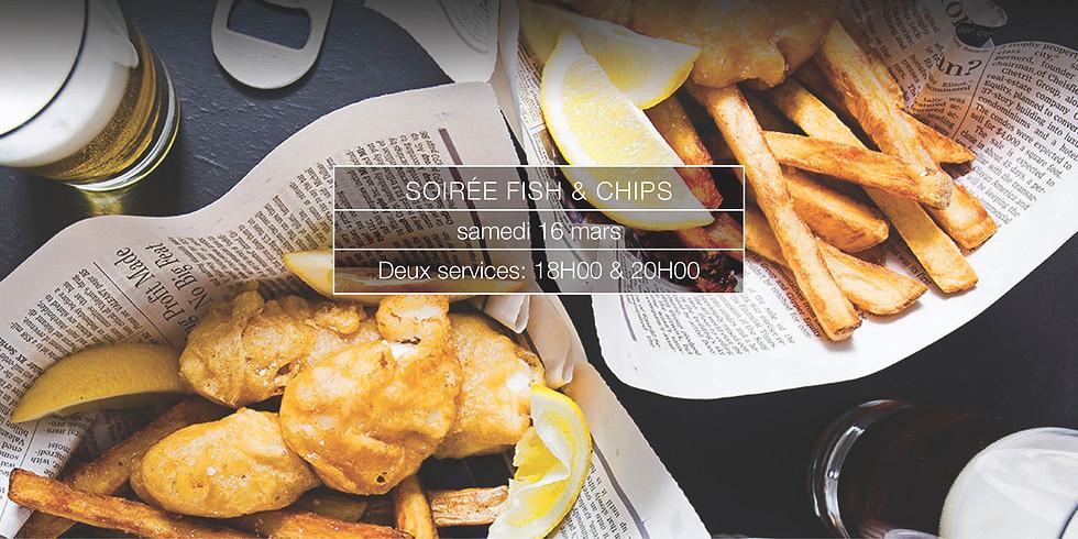 Soirée Fish & Chips + 6 Nations showdown