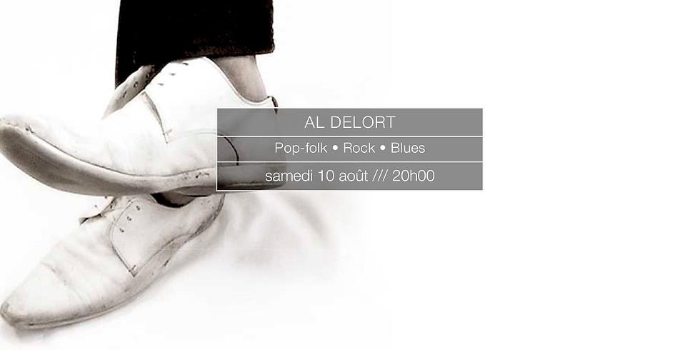 Al Delort en concert