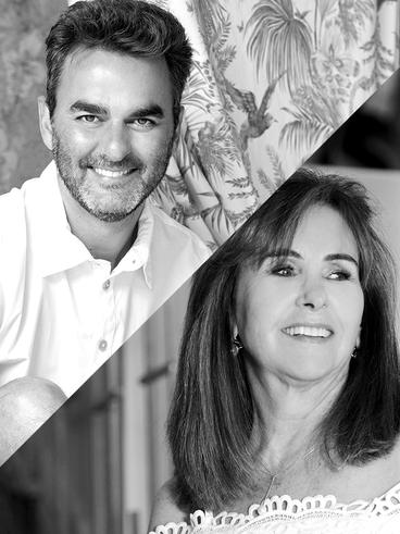 Leo Romano e Meire Santos