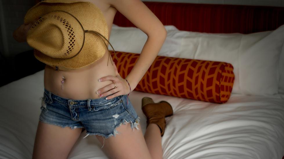cowboy theme boudoir