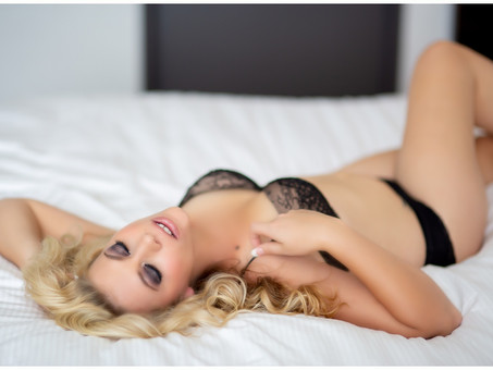 Boudoir in the bedroom, sexy and sultry....... St Louis premier boudoir studio