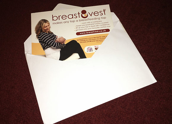 breastvest is the perfect gift for a breastfeeding mum