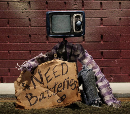 Homeless Robot Puppet