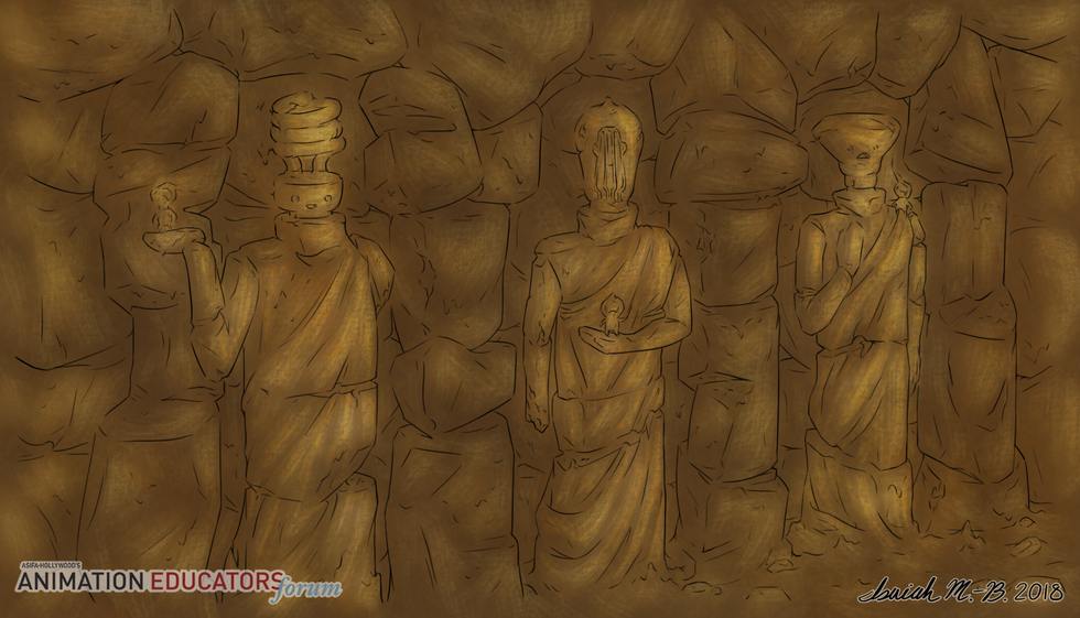 Cave - Background 6