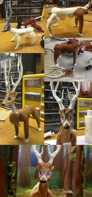 Deer - Puppet Construction