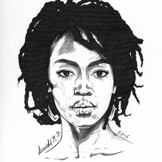 Lauryn Hill Portrait