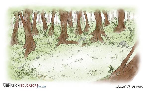 Rainforest - Background 3