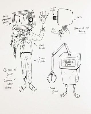 Robot Puppet Designs