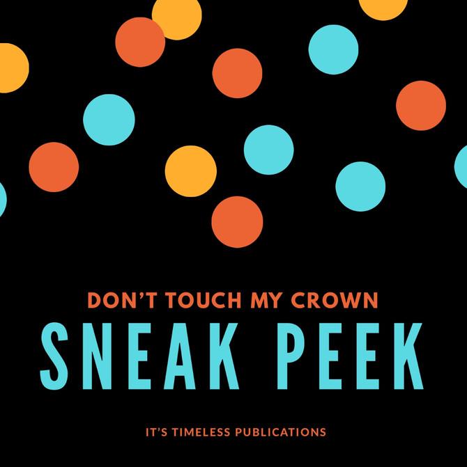 Sneak peek ❣️ Don't Touch My Crown