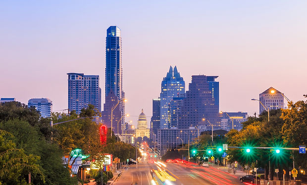 A View of the Skyline Austin, Texas at t
