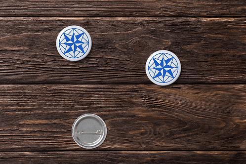 Compass Music Pins