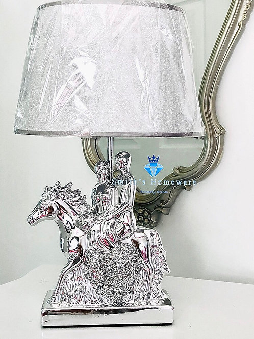 Diamanté studded Horse Lamp