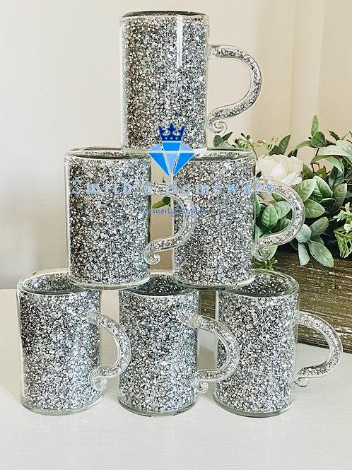 Diamanté filled cups