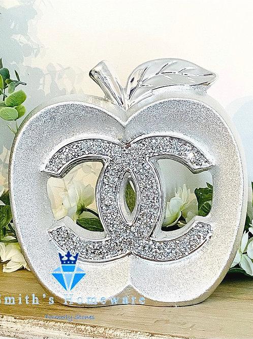 Inspired Apple Ornament