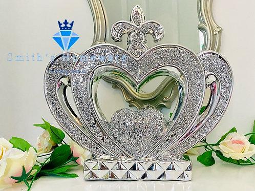 Heart Diamanté Crown