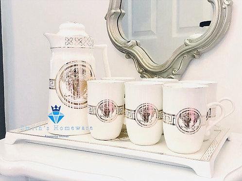 Medusa Inspired Tea Set