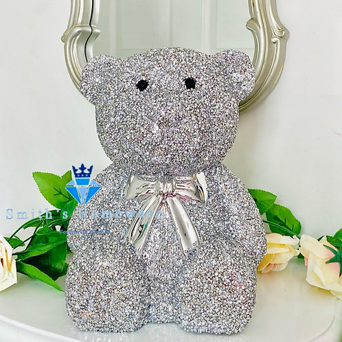 Large Diamanté Teddy Bear