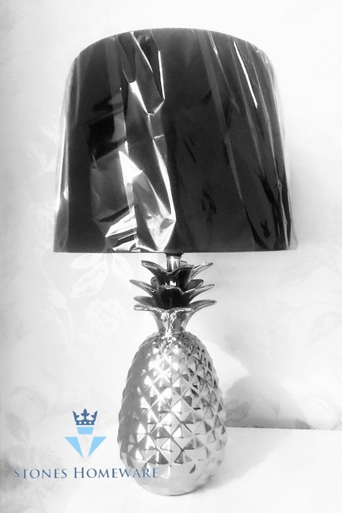 Silver Pineapple Lamp