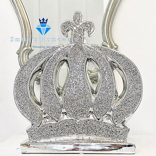 Diamanté studded crown