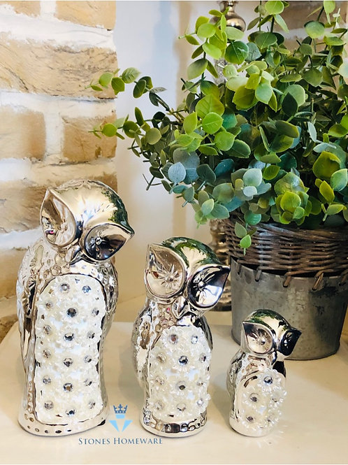 Set of 3 Mille Owls
