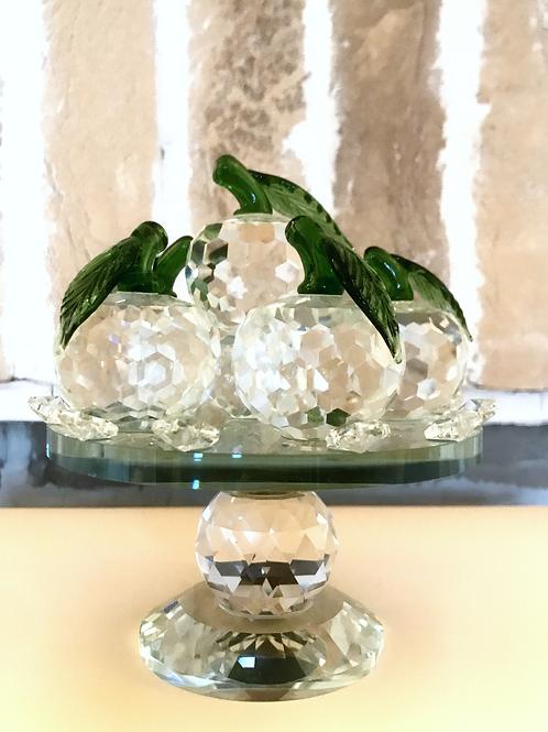 Glass Apple Spinner