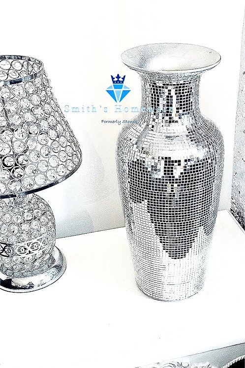 Medium Mirror Mosaic  Vase