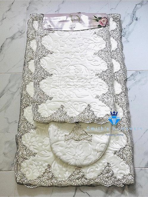 Dolce Mariee 3 piece Bath Mat set