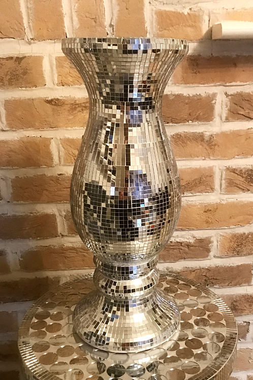 Glass Mosaic Vase