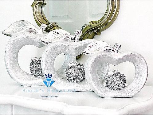 Set of 3 Apple ornaments