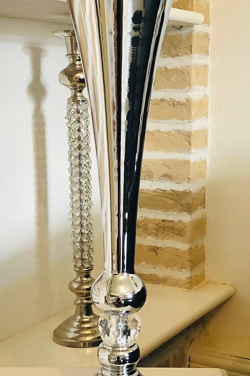 Silver Urn Vase