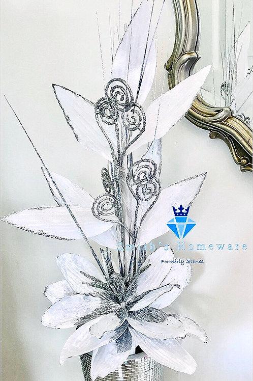 White Stem flower