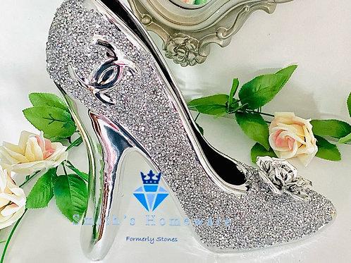 Diamanté studded ornamental Shoe
